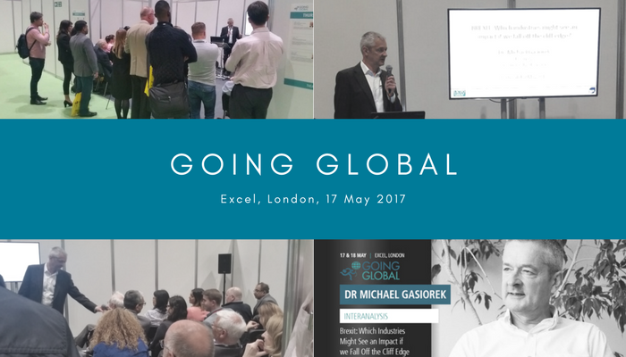 Going Global Compiled Image - Excel London May 2017